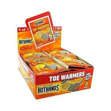 Heatmax HotHands Air-Activated 40 Pair Toe Warmers up to 8 Hours of Heat w/adhes