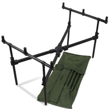 NGT Carp Fishing Cross Rod Pod MK 2  With Case For Alarms Rod Reel Set up