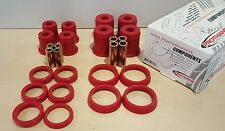 Prothane FOR 97-06 Jeep Wrangler TJ Front or Rear Control Arm Bushing Kit (RED)