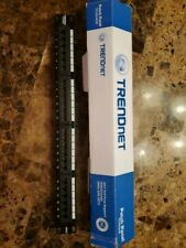Cat 6 Patch Panel 24 Port T568 A/B Wired - Wall Mount or Rack Mount