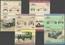 Timbres Voitures Tuvalu 279/86 ** lot 10825