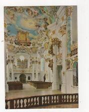 Die Wies Wallfahrtskirche Blick Vom Chor Postcard Germany 561a