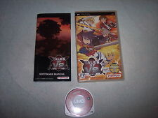 TALES OF VS, SONY PSP, PLAYSTATION, GIAPPONESE/ JAP/IMPORT/JP