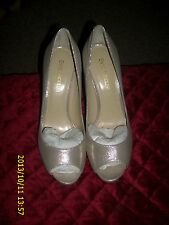 ENZO ANGIOLINI OPEN TOE HEELS  SHOES