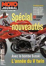 MOTO JOURNAL 1247 HONDA CBR 900 RR 125 Rebel SUZUKI TL 1000 YAMAHA Virago 1996