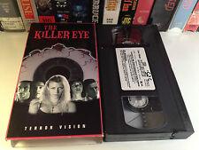 The Killer Eye Rare Horror VHS 1999 OOP HTF Sara St. James (Jacqueline Lovell)