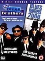 THE BLUES BROTHERS / BLUES BROTHERS 2000 2 DISC DOUBLE FEATURE 4 DISCS IN TOTAL