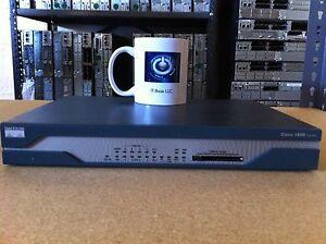 CISCO1811W-AG-A/K9 Cisco Security Router CISCO1811/K9 with warranty