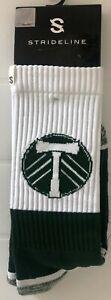 Strideline MLS Portland Timbers Full Knit 2 Socks One Size