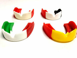 GUM-SHIELD MOUTH GUARD MULTI-COLOUR RUGBY HOCKEY BOXING BOIL BITE MOUTH GUARD