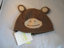 NWT Gymboree Play Time Bear Cub Beanie Cap 0-3 Months