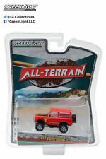 Greenlight 1977 Ford Bronco All Terrain 4 Diecast Model Car 1:64 Red 35050 B