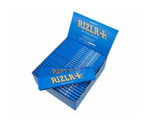 10 X Booklets RIZLA  Blue King Size Super Slim Rolling Papers