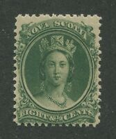 NOVA SCOTIA #11 MINT VF NH (.01)