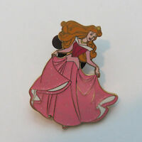 Disney Sparkle Princesses Sleeping Beauty Princess Dress Pink Aurora Pin