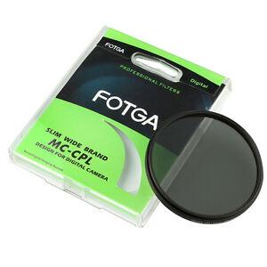 FOTGA 72mm PRO Ultra-Thin Multi-Coated Circular Polarizing MC-CPL Lens Filter