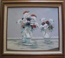 Antony Soldy Floral 20 x 24 27½ x 31½ unframed Mid 1970's Orig. oil