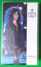 CHER EXTRAVAGANZA LIVE AT THE MIRAGE VIDEO VHS 13 TRACKS 1992 60 MINS