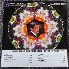 Dave Grusin – Kaleidoscope 1965 LP White Label Promo - Columbia CS 9144