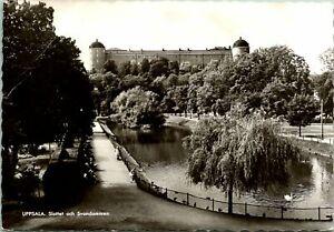 Uppsala Castle Sweden Postcard used 1962