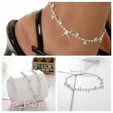 Anklet Ankle Bracelet Barefoot Sandal Beach New Jewelry Foot Silver Bead Chain