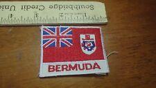VINTAGE  BERMUDA FLAG COUNTRY   BX12 #1