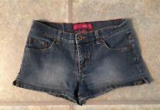 Glo Juniors Size 5 Medium Wash Short Denim Blue Shorts