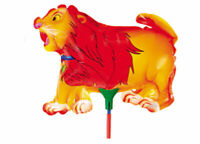 Folienballon Löwe Tier Heliumballon Luftballon Ballon Lion Kindergeburtstag