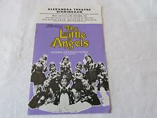 LITTLE Angels Folk BALLET Korea 1972 Original BIRMINGHAM Alexandra Theatre Flyer