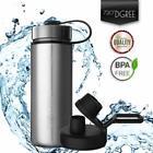 720°DGREE Edelstahl Trinkflasche noLimit 530 ml Isolierflasche Thermosflasche Si