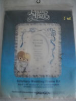 Precious Moments Wedding Frame Embroidery Kit by Paragon