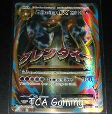 MEGA M Charizard EX 101/108 XY Evolutions Set FULL ART Pokemon Card NEAR MINT