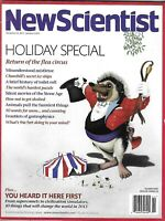 New Scientist Magazine Holiday Special Mistletoe Secret Ice Ships Animals 2013