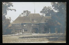 1900's 1910's RPPC Real PHOTO Postcard, Belle Isle Police Station, Free Shipping