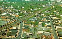 RAHWAY NEW JERSEY~AERIAL VIEW ~1970 POSTCARD