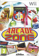 ARCADE ZONE for Nintendo Wii - with box & manual - PAL