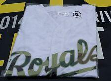 Kansas City Royals Mens Jersey Size XL Replica Memorial Day Jersey - White SGA
