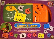 New in Box Magnetic Count & Learn with carrying case by The Learning Journey