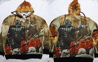 Star Wars Darth Vader Extermination Costume Zip up Hoodie Jacket Shirt