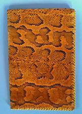 Schlangenleder-Brieftasche, echt, eine Rarität!