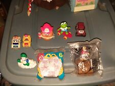 Lot Vintage McDonalds Kids Meal Toys Mermaid Trains Avatar Disney Wendys Jiminy
