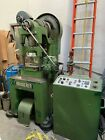 BRUDERER MODEL BSTA 30 TON 3 POST HIGH SPEED PUNCH PRESS W/ CONTROL AND FEEDER