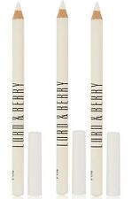Lot of 3 Lord & Berry Silk Kajal Kohl Eye Liner Pencils - White 1003 FS NWOB