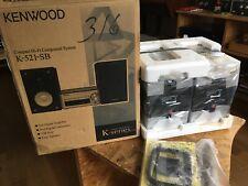 Paar KENWOOD 2 Wege Kompakt-Lautsprecher LS-K521-B, NOS in OVP, nie benutzt