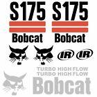 S175 Decals S175 Stickers Bobcat Skid Steer loader DECAL SET Kit 2 Stripe Kit