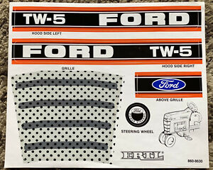 Decal for Ford TW5 Pedal Tractor - new NOS - Ertl