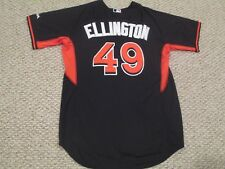 895125cd1 BRIAN ELLINGTON  49 size 48 2016 Miami Marlins Game jersey issued pre game  BP