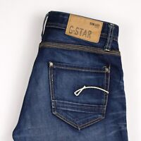G-Star Brut Hommes Porter Jeans Jambe Droite Taille W32 L34 ATZ463