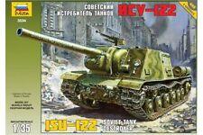 ZVEZDA 3534 1/35 Soviet Tank Destroyer ISU-122