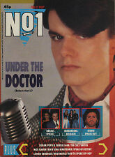 Dr Robert of The Blow Monkeys on Magazine Cover 1987    Bananarma    The Smiths